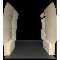 Habillage complet bois plancher antidérapant 10mm