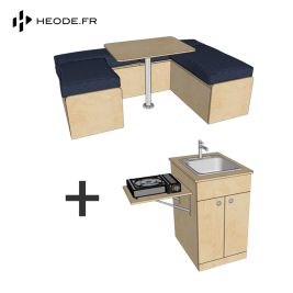Installation du kit complet Oceanside dans votre véhicule