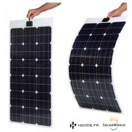 Panneau solaire 200W extra plat pour fourgon aménagé camping car
