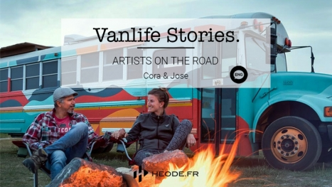 Artists on the road : The vanlife of Cora & Jose