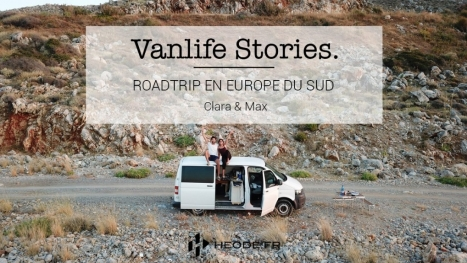 ROAD-TRIP À TRAVERS L'EUROPE DU SUD AVEC CLARA ET MAX